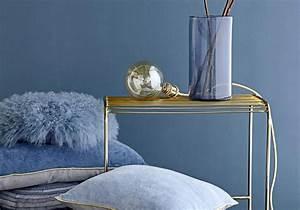 peindre une piece de 2 couleurs 1 indogate deco salon With couleur bleu canard deco
