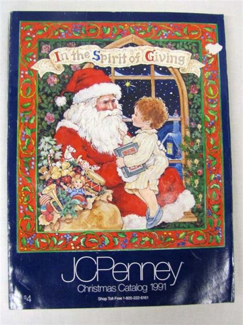 jcpenney christmas catalog  book cover christmas