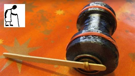 style rubber band powered cotton reel car  youtube
