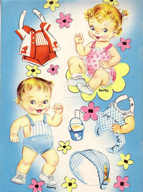 paper doll babies margess blog