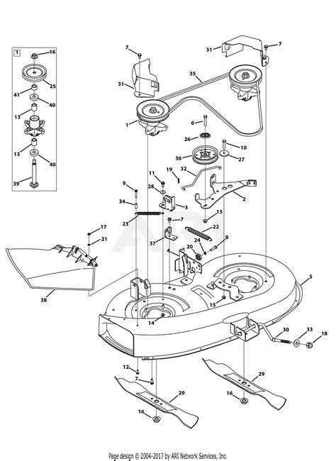 mtd aclf     parts diagram