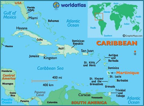 Martinique Carte Monde by Martinique Map Geography Of Martinique Map Of