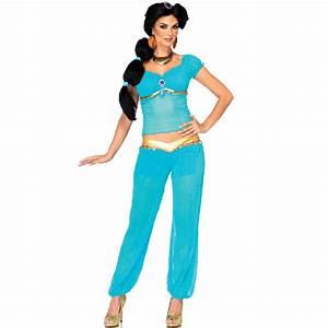 Top Quality 2015 Arabian Princess Jasmine Aladdin Costume Adult Women Halloween Cosplay Sexy ...