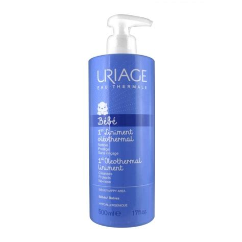 mycose du siege uriage bébé 1er liniment oléothermal 500 ml pharmacie