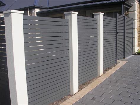 slat louver fences gates residential commercial