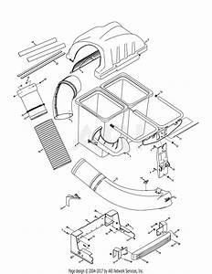 Troy Bilt 19a70043oem Twin Rear Bagger  2015  Parts