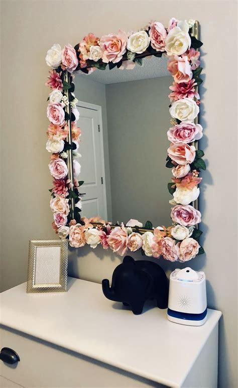 diy flower mirror instagram atjayloandstitch village