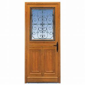 Porte D Entrée Pvc Lapeyre : porte d 39 entr e mansart pvc d cor bois portes ~ Farleysfitness.com Idées de Décoration