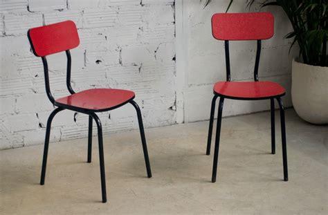 image de chaise chaises cuisine vintage café bistrot formica