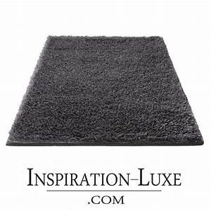 tapis de salle de bain de luxe gris anthracite With tapis de bain gris anthracite