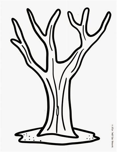 Tree Trunk Finger Fall Painting Template Printable
