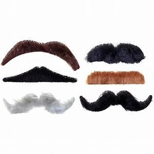 False Moustache Set - Movember Moustache Set - Party Ark