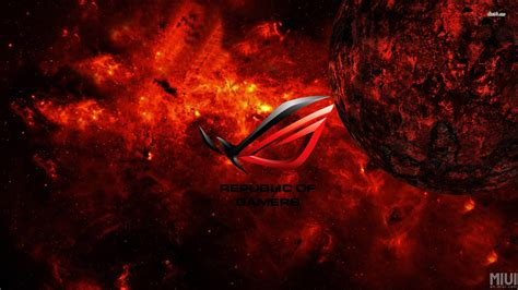 Asus Republic Of Gamers Wallpapers By Viral316
