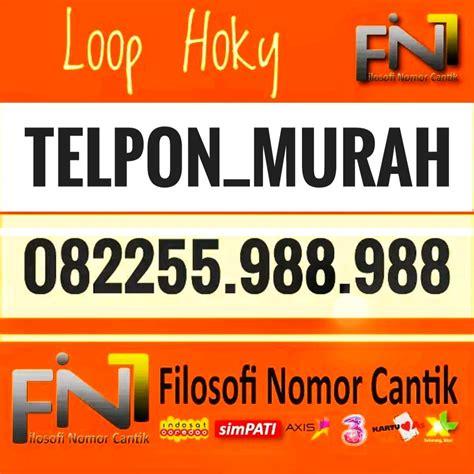 jual nomor cantik simpati loop angka besar hoky 082255 988 988 telpon murah di lapak nomor