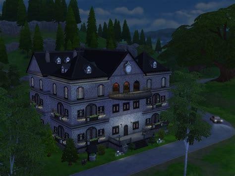 dark mansion  cc  tatyana  sims  updates