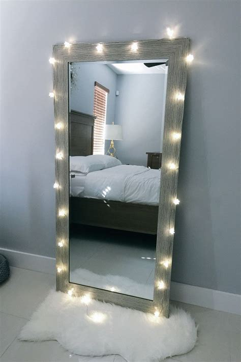 bedroom mirrors with lights around them 25 best ideas about bedroom mirrors on pinterest white 20275 | daa029728b8c3de7f85b9e372deb6b7e