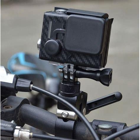 fixation pince pour camera gopro avec base rotative