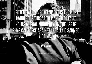 Ayn Rand On Government Quotes. QuotesGram