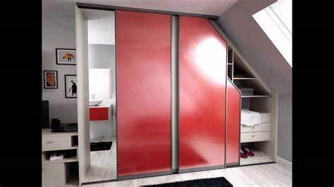 sous original bureau placards portes coulissantes bureau lits sous pente