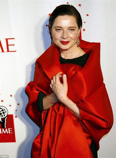 Red Carpet Dress Online by Isabella Rossellini Model Says Being A Hollywood Icon Is