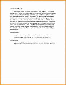 report writing application letter job application