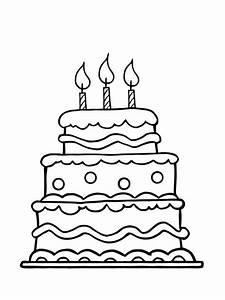 Dessin Gateau Anniversaire : coloriage anniversaire 20 dessins imprimer ~ Melissatoandfro.com Idées de Décoration