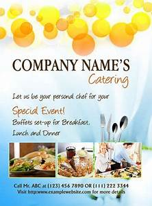 MS Word Catering Flyer Template