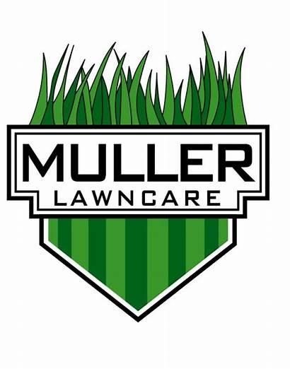 Lawn Logos Care Landscaping Business Mower Vector