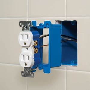 How to replace a loose electrical wall outlet