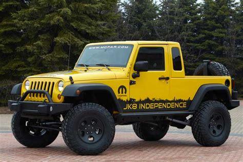 jeep announces  wrangler unlimited pickup  kit form