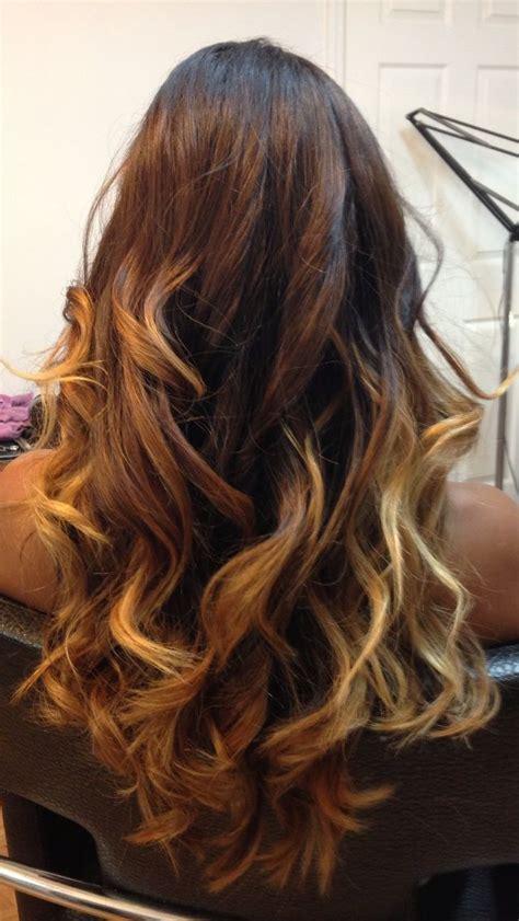 Long Dark Brown Ombré Hair By Diana Palo Hair