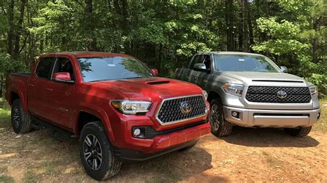 2019 Toyota Tundra News by 6 Factors When Choosing 2019 Toyota Tacoma Vs 2019 Toyota