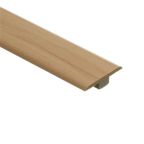 home depot t molding zamma brilliant maple 7 16 in thick x 1 3 4 in wide x 72 in length laminate t molding