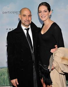 Stanley Tucci and Felicity Blunt attended the Promised ...
