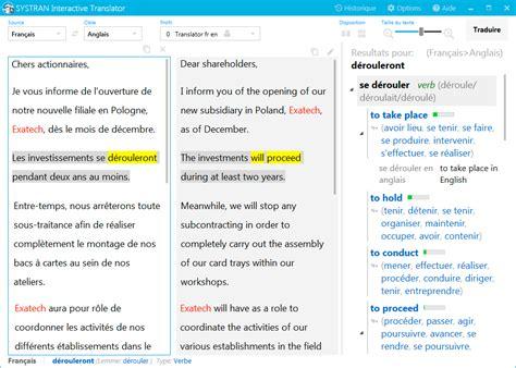 traduction chambre espagnol systran traducteur et dictionnaire pour bien traduire