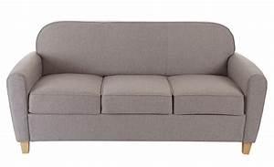 Sofa 50er Jahre : 3er sofa malm t377 loungesofa couch retro 50er jahre design grau textil ~ Markanthonyermac.com Haus und Dekorationen