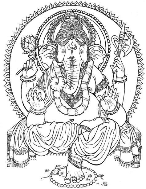 Kind Ganesh tattoo sketch | Best Tattoo Ideas Gallery