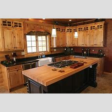 Extraordinary Hickory Kitchen Cabinets  Furniture