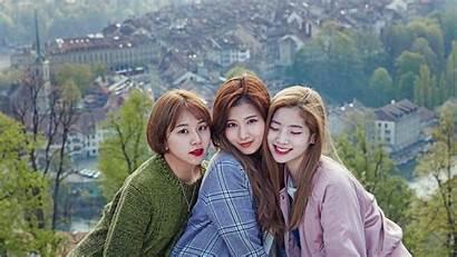 Twice Wallpapers Sana Background Hyun Da Chaeyoung