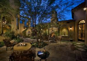 Spectacular Luxury Design Homes by Courtyard Backyard Of A Spectacular Luxury Estate