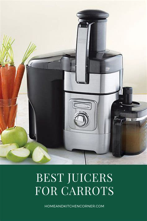 juicer carrots guide