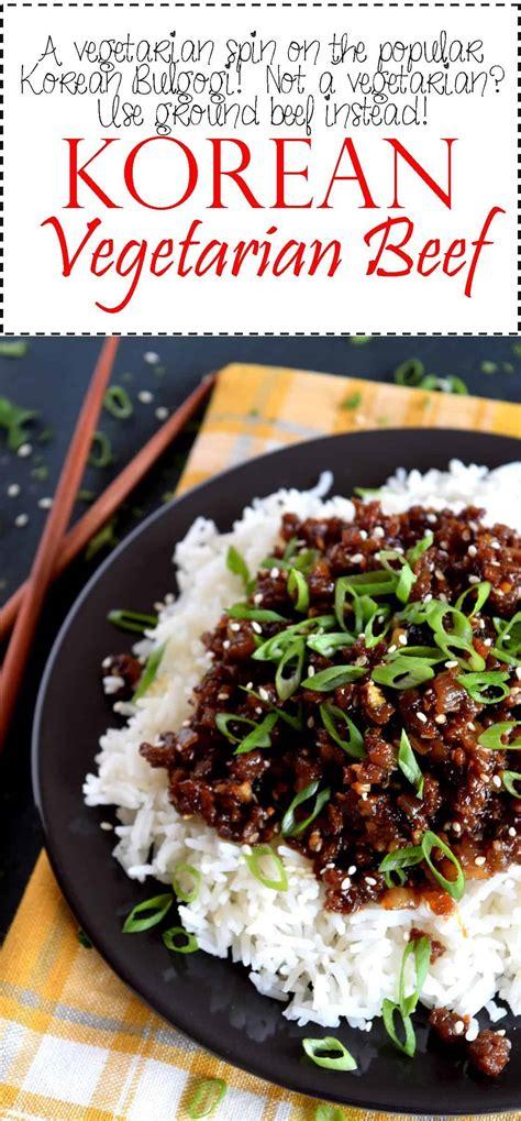 korean vegetarian beef lord byrons kitchen