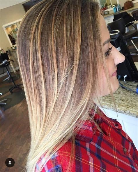 balayage straight hairstyles  cruckers