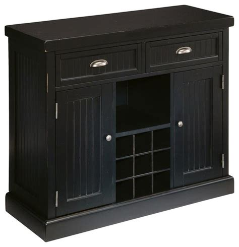 Black Sideboards And Buffets by Distressed Black Buffet Traditional Buffets And