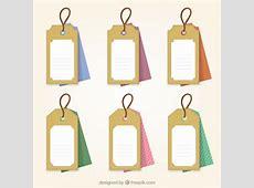 Etiquetas de la ropa Descargar Vectores gratis