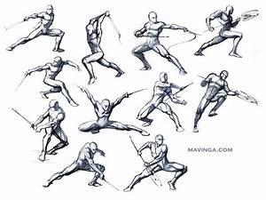 Studies for poses by mavinga.deviantart.com on @deviantART ...
