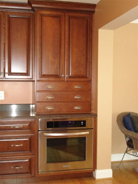 kitchen cabinets install ge oven ge counter oven 3035