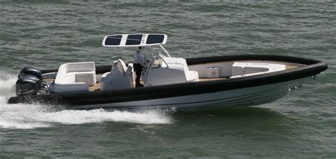 Yellow Rib Boat by Research 2015 Yellowfin 40 On Iboats