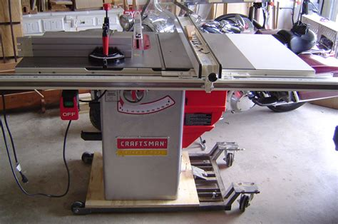 craftsman professional cabinet saw review craftsman professional 22124 10 quot table saw by