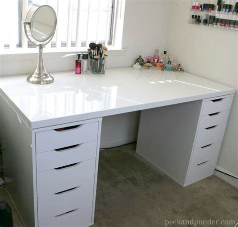 Ikea 60 Sink Vanity by Best 25 Ikea Makeup Vanity Ideas On
